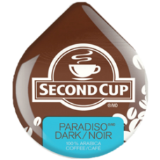 Tassimo Second Cup Paradiso Dark (Dated June 10th 2018)