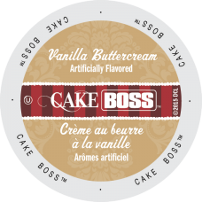 BULK Cake Boss - Vanilla Buttercream (96ct)