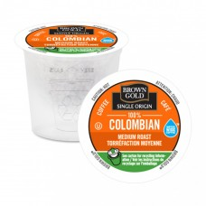 Brown Gold Coffee - 100% Colombian