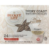 Bucket List - Ivory Coast White Hot Chocolate
