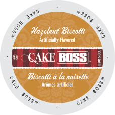 Cake Boss - Hazelnut Biscotti