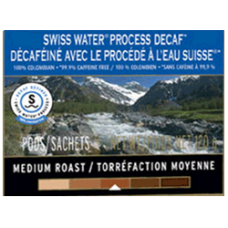 Club Coffee - 100% Colombian Swiss Water Process Decaf (20ct)