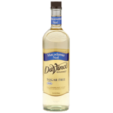 DaVinci Splenda SF Macadamia Nut (Glass)
