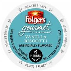 Folgers – Vanilla Biscotti