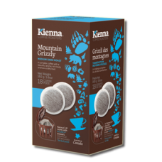 Kienna Coffee Pods- Mountain Grizzly
