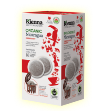 Kienna Coffee Pods- Organic Nicaragua