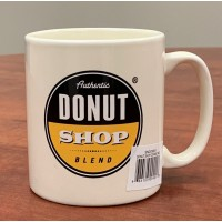 Ceramic Mug - Authentic Donut Shop (8.5oz)