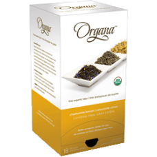 Organa Chamomile Lemon Tea PODS