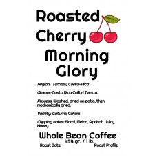 Roasted Cherry Whole Bean Costa Rica - Morning Glory (1lb)