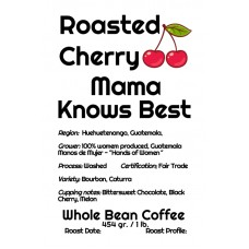 Roasted Cherry Whole Bean Guatemala - Mama Knows Best (1lb)