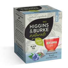 Higgins & Burke Naturals Loose Leaf Tea Bags - Bergamia Grey