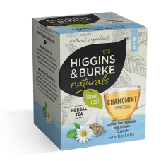 Higgins & Burke Naturals Loose Leaf Tea Bags - Chamomint Meadows