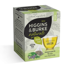 Higgins & Burke Naturals Loose Leaf Tea Bags - Lemongrass Green