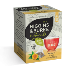 Higgins & Burke Naturals Loose Leaf Tea Bags - Roaring Black