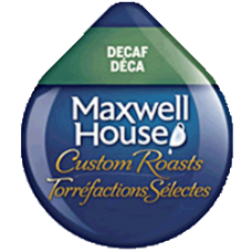 Tassimo Maxwell House *DECAF* (Dated August 28th 2018)