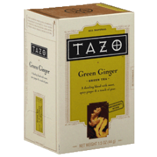 Tazo-Green Ginger