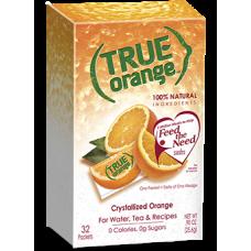 True Orange Crystals
