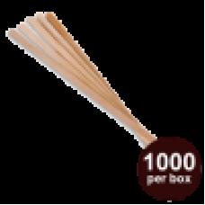 Wooden Bio Degradable 6' Stir Sticks