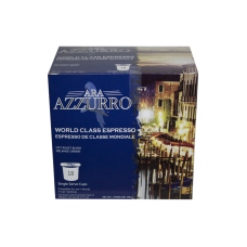 Azzurro World Class Espresso (Dated Dec 31st 2017)
